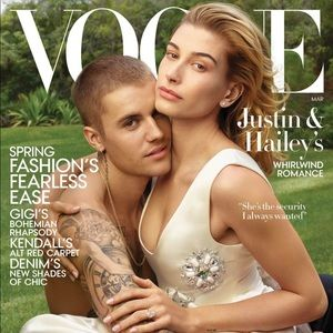 Justin Bieber & Hailey Baldwin Vogue March 2019
